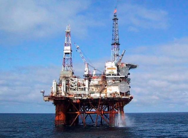 Blue skies for North Sea oil.