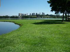 Barigui Park in Curitiba.